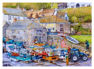 Signes Open Edition GicléePrint of Cadgwith Cove, Cornwall