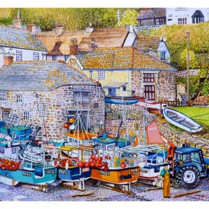 Signed Open Edition Giclée Prints of Cadgwith Cove, Cornwall