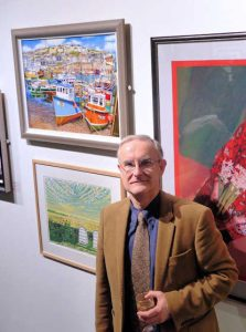 Roger Turner At The Mall Galleries
