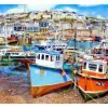 Signed Open Edition Print Of Mevagissey Harbour