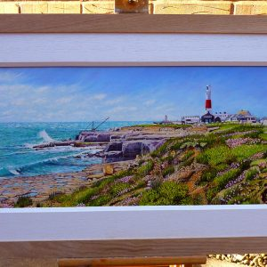 Portland Bill Lighthouse In April