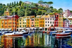 Portofino On Reflection