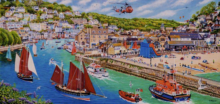 Looe Carnish Lugger Regatta Festival
